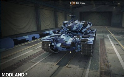 T57 Heavy Blue Digital Skin 1.0.2.2 [1.0.2.2], 1 photo